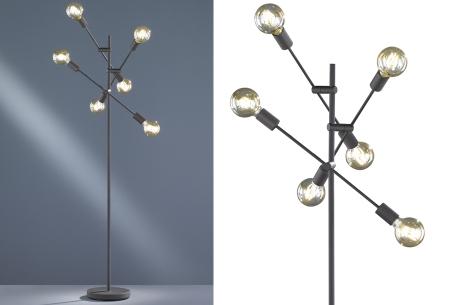 Vloerlampen in 5 modellen | Moderne design lampen voor een stijlvol interieur #4 Cross