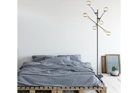 Vloerlampen in 5 modellen | Moderne design lampen voor een stijlvol interieur