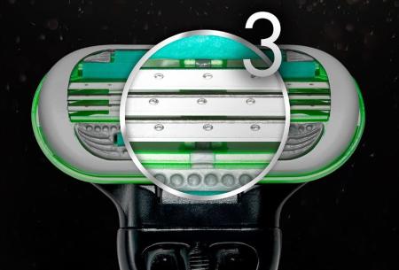 3-pack Gillette Body scheermesjes | Topkwaliteit wegwerpmesjes voor het mannelijk lichaam