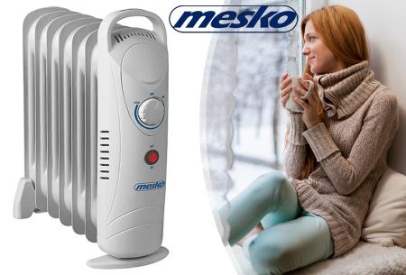 Mesko mobiele verwarming nu in de aanbieding met 50% korting
