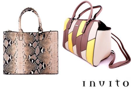 Invito tassen | Luxe en stijlvolle handtas - Keuze uit 6 modellen