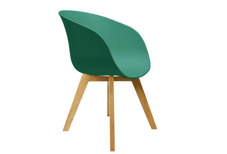 Noan eetkamerstoelen | Tijdloze design stoelen voor optimaal zitcomfort Groen
