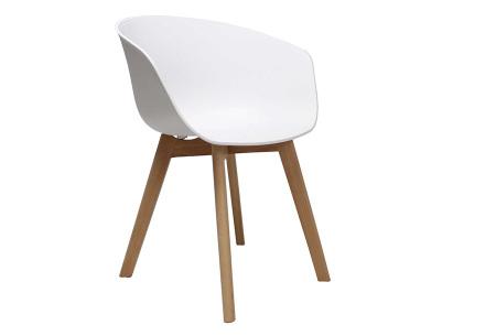 Noan eetkamerstoelen | Tijdloze design stoelen voor optimaal zitcomfort Wit