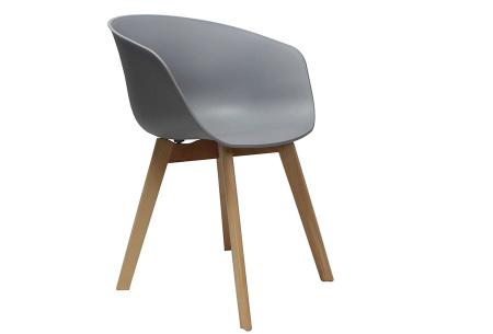 Noan eetkamerstoelen | Tijdloze design stoelen voor optimaal zitcomfort Grijs