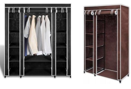 Stoffen kledingkast | Praktisch voor in elk huishouden