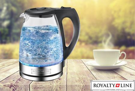 Royalty Line LED waterkoker | Moderne eyecatcher met prachtig lichtspektakel!