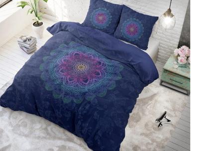 Katoenen dekbedovertrekken van Dreamhouse | Beste slaapcomfort met optimale duurzaamheid katinka - blue