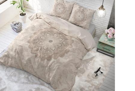 Katoenen dekbedovertrekken van Dreamhouse | Beste slaapcomfort met optimale duurzaamheid katinka - crème