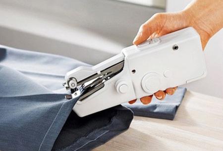 Mini handnaaimachine | Makkelijk en snel je kleding (ver)maken
