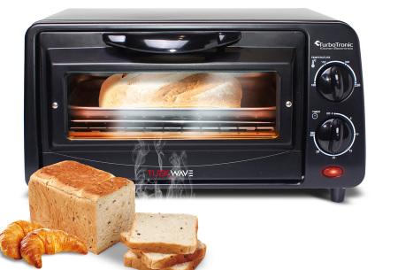 TurboTronic elektrische ovens | Gemakkelijk en snel bakken, braden, opwarmen & grillen TT-EV9