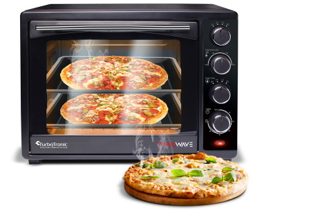 TurboTronic elektrische ovens | Gemakkelijk en snel bakken, braden, opwarmen & grillen TT-EV35