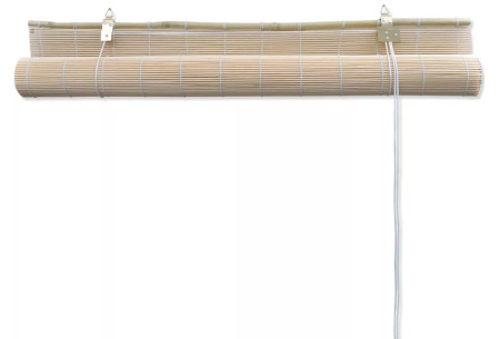 Bamboe rolgordijn | In 6 diverse afmetingen inclusief gratis verzending