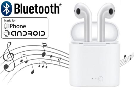 Draadloze Bluetooth oordopjes | Muziek luisteren en handsfree bellen zonder vervelende snoeren