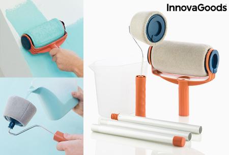 InnovaGoods anti-drup verfrollers | 6-delige navulbare set - Verven zonder knoeien!