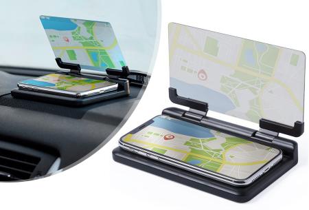 Auto telefoonhouder met spiegel | Ideaal tijdens het navigeren