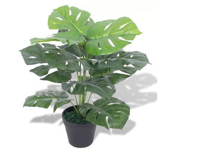 Realistische kunstplanten | Fleur jouw huis op! - incl. gratis verzending monstera - 45 cm