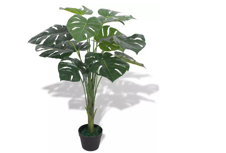 Realistische kunstplanten | Fleur jouw huis op! - incl. gratis verzending monstera - 70 cm