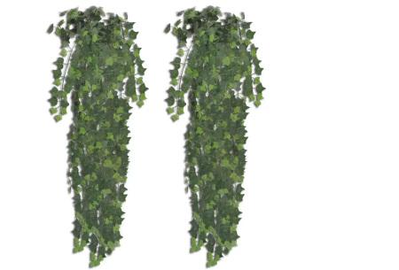 Realistische kunstplanten | Fleur jouw huis op! - incl. gratis verzending klimop - 90 cm