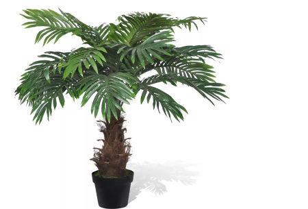 Realistische kunstplanten | Fleur jouw huis op! - incl. gratis verzending cycas - 80 cm