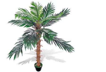 Realistische kunstplanten | Fleur jouw huis op! - incl. gratis verzending kokospalm - 140 cm