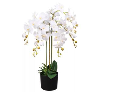 Realistische kunstplanten | Fleur jouw huis op! - incl. gratis verzending orchidee - 75 cm