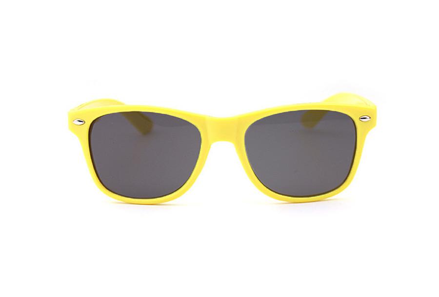 Wayfarer zonnebril Geel