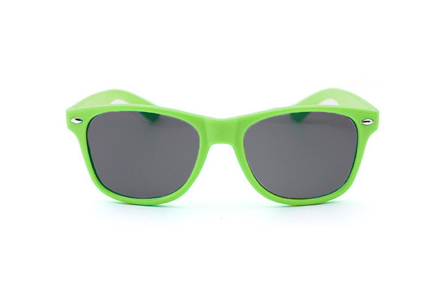 Wayfarer zonnebril Groen