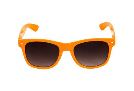 Wayfarer zonnebril | In maar liefst 11 kleuren Oranje