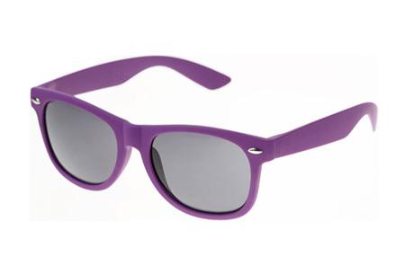 Wayfarer zonnebril | In maar liefst 11 kleuren Paars