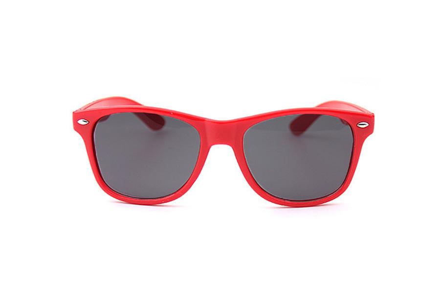 Wayfarer zonnebril Rood