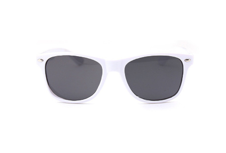 Wayfarer zonnebril | In maar liefst 11 kleuren Wit
