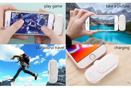 Magnetische powerbank | Geschikt voor iOS, Android en type-C