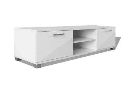 Hoogglans TV-meubel | Voor een stijlvolle, moderne uitstraling in elk interieur Wit 120 cm