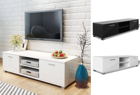 TV-meubel in hoogglans wit of zwart nu mega voordelig