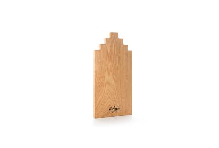 Wooden Amsterdam houten serveerplanken   In de vorm van een grachtenpand Oak 40 cm