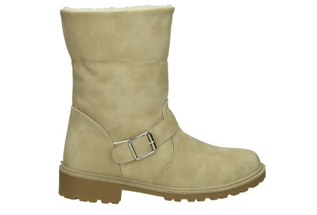 Gevoerde schoenen sale | Elke werkdag lagere prijzen, maar wees op tijd | OP=OP ZY9211 beige
