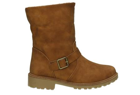 Gevoerde schoenen sale | Elke werkdag lagere prijzen, maar wees op tijd | OP=OP ZY9211 camel