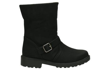 Gevoerde schoenen sale | Elke werkdag lagere prijzen, maar wees op tijd | OP=OP ZY9211 zwart