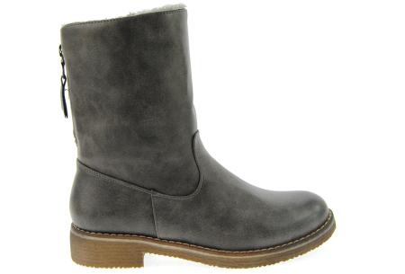 Gevoerde schoenen sale | Elke werkdag lagere prijzen, maar wees op tijd | OP=OP 775-PA grijs