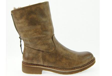 Gevoerde schoenen sale | Elke werkdag lagere prijzen, maar wees op tijd | OP=OP 775-PA khaki