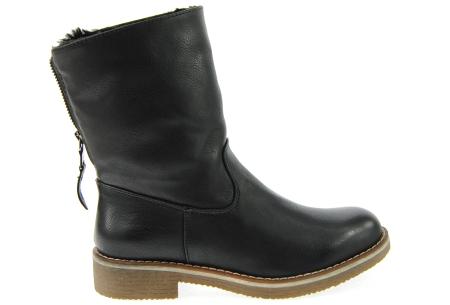 Gevoerde schoenen sale | Elke werkdag lagere prijzen, maar wees op tijd | OP=OP 775-PA zwart