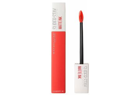 Maybelline Superstay matte lipstick | Voor een verbluffend effect  #25 heroine