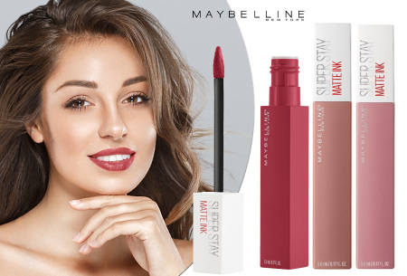 Maybelline Superstay matte lipstick - nu in de aanbieding