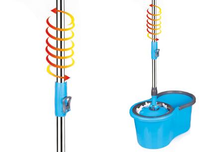 Cenocco roterende dweil | Automatisch wringen dankzij 360° draaisysteem!