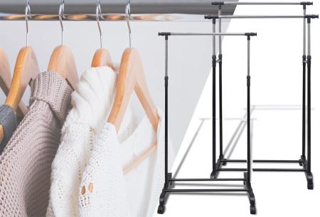 Verstelbare kledingrekken | Praktisch en verkrijgbaar in diverse formaten