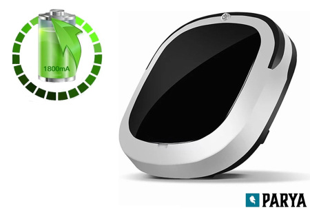 Parya robotstofzuiger | 3-in-1 intelligente stofzuiger