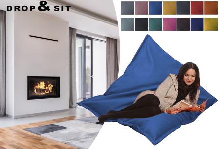 Drop & Sit stoffen zitzak | Ultiem comfort en een stijlvolle uitstraling in je interieur