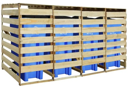 Containerberging | Je kliko's netjes uit het zicht 4 kliko's