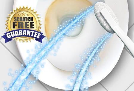 Hard Water Wand puimsteenborstel 1 + 1 gratis | Je wc moeiteloos schoon!