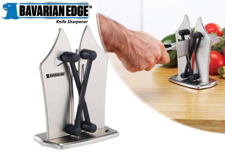 Bavarian Edge messenslijper | Al je keukenmessen vlijmscherp in een handomdraai